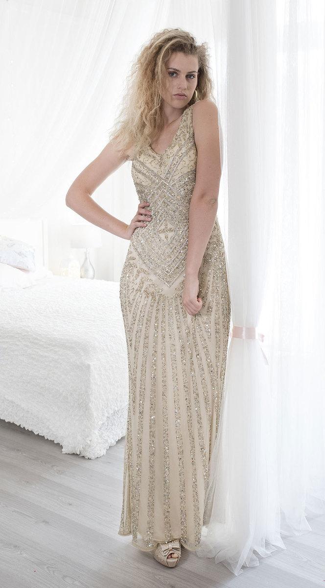 ce36fb9b75d Ganga - DÁMSKÉ - LUXUSNÍ ŠATY - Luxusní svatební šaty L db1019
