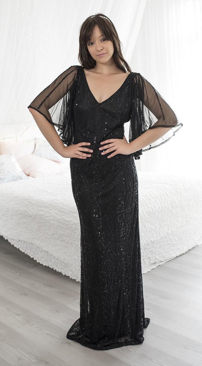 Ganga - DÁMSKÉ - LUXUSNÍ ŠATY - Luxusní společenské šaty XL db1020 609f5a00df