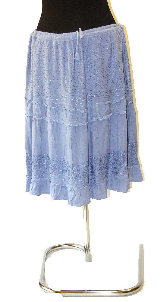 affeee224ccd Ganga - DÁMSKÉ - SUKNĚ - Blankytně modrá letní sukně suk2769