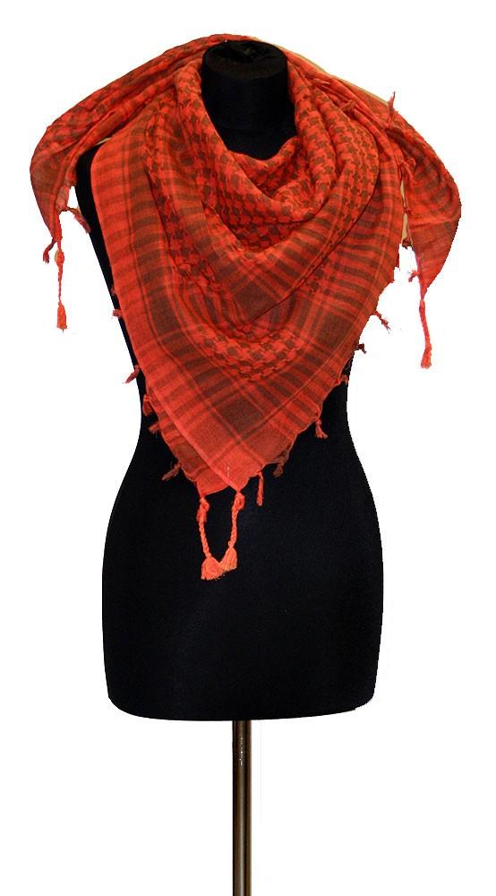 1f5886fd05a Palestina šátek arafat oranžovo-hnědý