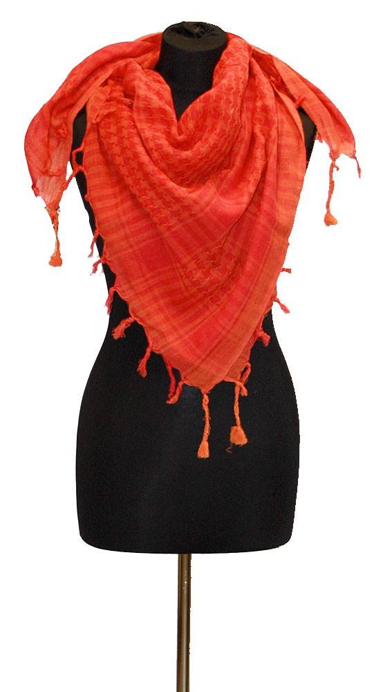 Palestina šátek arafat oranžovo-růžový 20b8aa23ae