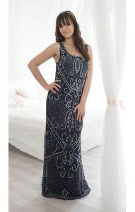 e2fd4eae5c5 Nové Luxusní vyšívané šaty L db1008