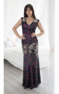 Nové Luxusní šaty z Dubaje S db1021 3f69b437e0