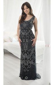 Nové Luxusní retro šaty M db1032 d4e93a2087